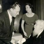 Willy Brandt und Rudolf Wissell