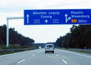 ... jetzt wieder zügig gen München