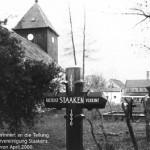 Die Dorfkirche Staaken nahe dem Mahnmal in der Bergstraße
