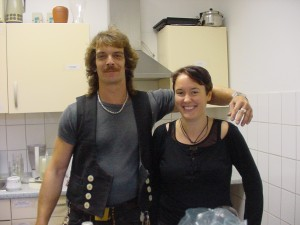 Sylvia Schwarze, Christian Müller, die Streetworker