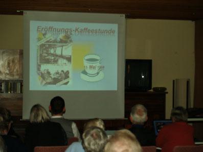 Echte 68er - die erste Kaffeestunde im neuen Wohnhaus