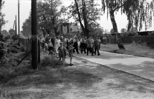 Umzug und Fest des Bezirksvereins Amalienhof in den 50igern
