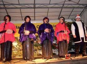 Am 27.11. ab 17 Uhr auf der Weihnachtsbühne die Theatergruppe Elektra