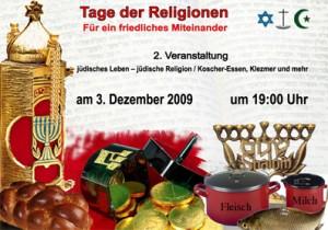 DAF und Gemeinwesenverein laden ein. Diesmal Thema Jüdisches Leben, Bräuche Religion