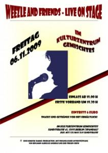 Am 6.11. ab 19 Uhr ein Konzert der Dominik Damke Production