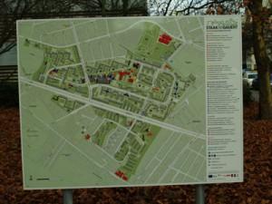 Auf einen Blick alles über unser Quartier - die Gebietskarte vom Büro Stadträumliches Lernen