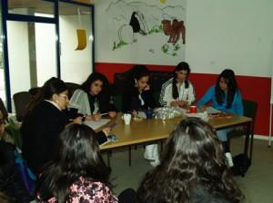 Die Herausfordererinnen, das Team der jungen Frauen