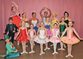 Ab 18 Uhr auf der Bühne: die Tanzgruppe des Studios Unterwalder