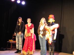 v. l.n.r. Ladykay, Madlen, Sarah Schmidt und Bartuschka