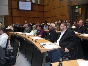 Aus unserem Stadtteil u.a. mit dabei: Thaer El-Jomaa, Gaafar Saad, Nakissa Imani Zabet, Renate Lüdke und Uwe Schröder (v.r. nach l.)