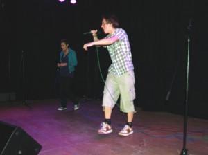 Andreas Pavelic und Didem Urgan mit Rap als echtem Dialog