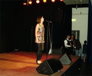 Daria Schönberger präsentierte eine gehörige Portion Showtalent