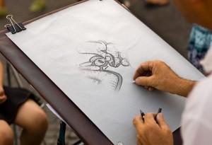 Am 07. und am 14. Mai Workshop mit Graffitikünstlern über die kreative Umsetzung