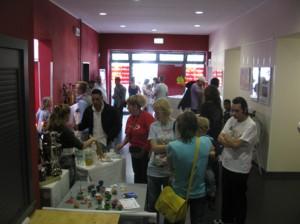 Viel Programm aber auch viel leckeres Essen und Trinken wurde den Besucher/innen geboten