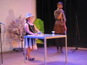 Trickreich: Ebenso von Harmonie kam die kleine Zauberin, die das Publikum bezauberte