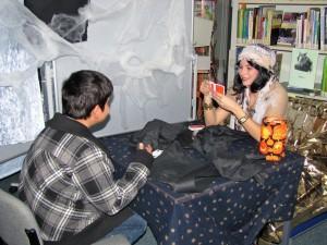 HalloweenLesungWahrsagerin