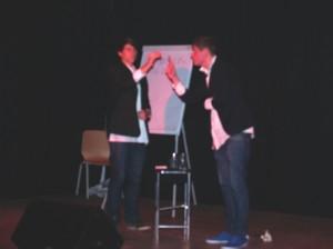 """Echte Magier, """"die Zauberknaben"""", die mit verblüffenden Tricks und einer professionellen Bühnenshow das Publikum verzauberten"""