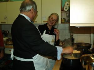"""""""Etwas mehr Salz an die Suppe bitte"""" Cornelia Dittmar vom QM gibt Tipps an den Spandauer BM (Januar 2010)"""