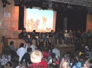 """""""Wofür man Freunde braucht"""" erklärten die Schüler/innen bei ihrer Umsetzung des Buches """"Pezzetino"""""""
