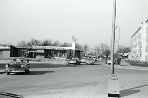 """Aus dem GVG-Supermarkt Mitte der 60er an der Sandstraße wurde inzwischen mit """"Soziale-Stadt-Geldern"""" und viel Engagement das Kulturzentrum Gemischtes. (Foto Wolfgang Zindler)"""