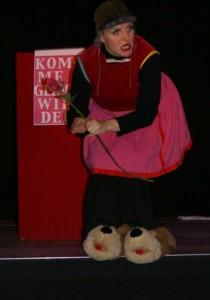 Profi auf der Bühne: die Comedienne Batuschka, die auch im Herbst einen Workshop für Talente anbot
