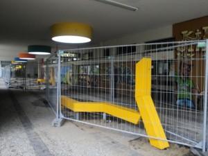 """Die """"wandernden Linien"""" ziehen sich von Staaken-Center bis zum Wirtschaftsweg"""