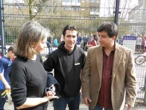 Angela Budweg (Stadtplanungsamt Spandau), Can Akca, Mehmet Matur