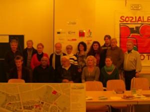 Quartiersräte bei der Stadtteilversammlung im November 2012