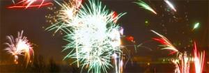 Ausschnitt Fireworks in Zwickau Foto AKA 2005