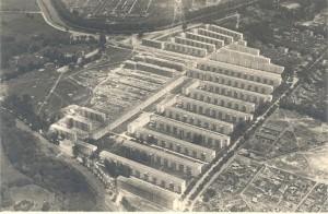 Anfang der 30er noch im Bau, die Reichsforschungssiedlung der Gewobag