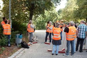 "QF1 gefördert: Kiezputztag und ""Unser Kiez!"""