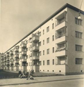 Die Siedlung in den 30ern (Archiv Gewobag)