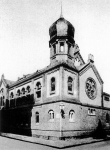 Die Spandauer Vereinssynagoge in den Pogromen des 9.11. 38 zerstört