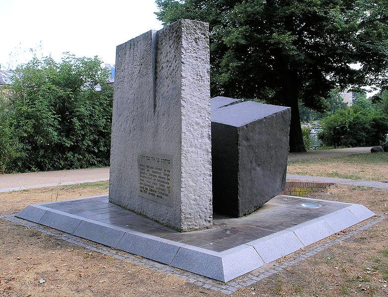 Mahnmal_Lindenufer_Synagoge_Spandau Wikimedia Commons