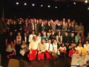.. und erst recht kein Gruppenfoto von allen Gästen und Freizeit-Servicekräften am Schluss des Abends