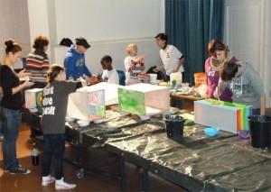 Beim Workshop im STEIG 2012