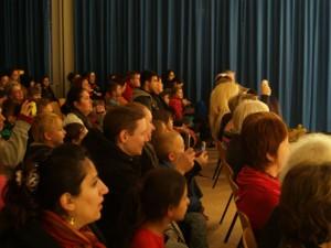 Begeisterung und Stolz beim Publikum