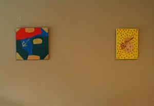 Neu an den Wänden, die Ausstellung von Michael Harbort