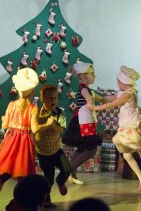In der Weihnachtsbäckerei ..