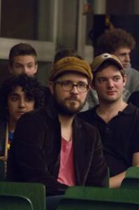 Moritz Sembritzki (vorn) und Laurids Richter (rechts)