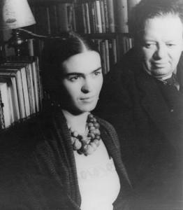 Frida Kahlo u. Diego Rivera 1932