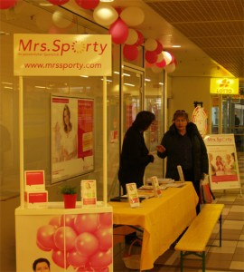 Infostand_Mrs.Sporty