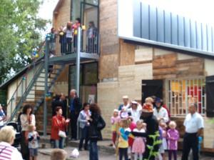 Wiedereröffnung nach Umbau haus am Cosmarweg August 2011