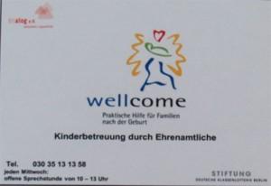 Wellcome_Schild
