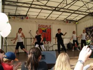 .. und Dancekids der Tanzschule Allround ..
