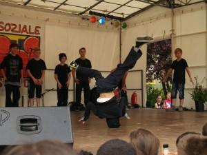 Zum Schluss dann nochmal viel für Ohr und Auge, von den Breakdancers ..