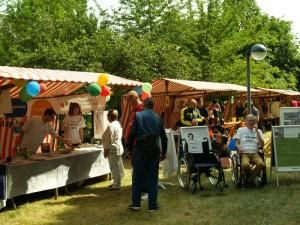 Rollstuhlparcours beim Fördererverein