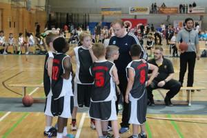 Im Dress des TSV 1860 und mit Coach Matthias Schubert