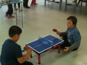 Tischtennis macht Spaß an kleinen ..