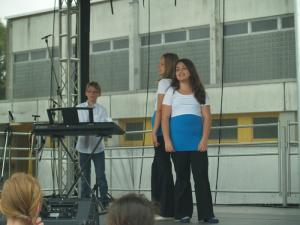 ... oder Dancing Queen - 5 x ABBA in verschiedenen Besetzungen von der 6b